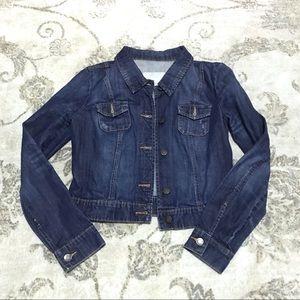Old Navy Dark Wash Denim Jacket